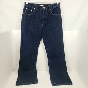 Halogen Button Fly Straight Leg Jeans